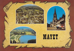 72 MAYET / 3 VUES SUR PARCHEMIN - Mayet