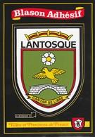 CPSM 06 LANTOSQUE BLASON ADHESIF - Lantosque