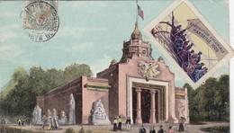 13 / MARSEILLE / EXPOSITION COLONIALE 1906 / PAVILLON ANNAM / VIGNETTE - Exposiciones Coloniales 1906 - 1922