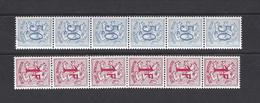 Belgique: R9 + R12 **  Sans N° - Coil Stamps
