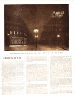 """PUB MONTRE """" OMEGA """" L'HEURE Par La TSF 1914 - Montres Anciennes"""
