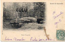 DEPT 95 : Précurseur édit. J Frémont : Foret De Carnelle , Pierre Turquoise - Non Classés