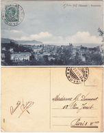 CHIAVARI - GENOVA - PANORAMA - VIAGG. 1912 -27199- - Genova