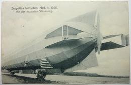 ZEPPELINS LUFTSCHIFF , MOD. 4. 1908 - MIT DER NEUESTEN STEUERUNG - Aeronaves
