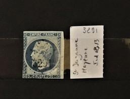 03 - 20 //  France N° 14 Oblitéré PC 3291 - St Suzanne - Mayenne - Indice 13 - 1853-1860 Napoleone III