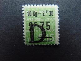 Rare Timbre Pour Colis Postaux N°. 162* Avec Charnière à Peine Visible - Mint/Hinged