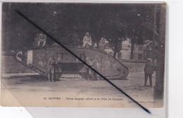 Suippes (51) Tank Anglais Offert à La Ville De Suippes - France