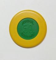 BELGIO - OOESTENDE - KURSAAL Casinò - CHIP / FICHE / TOKEN Da 50 - Casino
