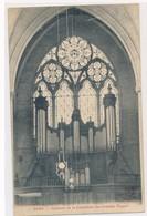 CPA Sens Intérieur De La Cathédrale Les Grandes Orgues Circulée Timbre - Sens