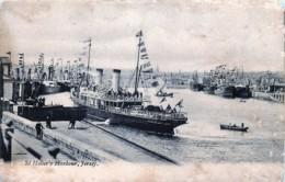 U.K. - Jersey - St Helier's Harbour - Jersey