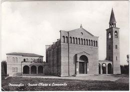 MARZAGLIA - MODENA - NUOVA CHIESA E CAMPANILE - VIAGG. 1962 -17180- - Modena