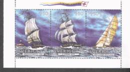 CEPT 500 Jahre Entdeckung Amerikas Schweden 1709 - 1711 MNH ** - 1992