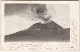 NAPOLI - IL VESUVIO - CRATERE IN ERUZIONE - VIAGG. 1903 -23234- - Napoli (Nepel)