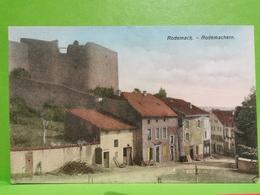 CPA, Rodemack- Rodemachern. (France) Éd. N. SCHUMACHER. Mondorf-les-bains - Cartoline