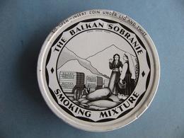 Vintage Ancienne  Boite à Tabac  De Collection  THE BALKAN SOBRANIE SMOKING MIXTURE Complète - Cajas Para Tabaco (vacios)