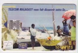 TK 22847 MADAGASCAR - Chip - Madagascar