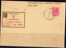 ITALIA REPUBBLICA CARTOLINA POSTALE INTERO 1974 ITALY POSTCARD 12 2 1975 SIRACUSANA TURRITA LIRE 40 USATO USED OBLITERE' - Ganzsachen