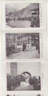 EXPULSION DES CHARTREUX : Avril ; 1903 . 6 CP Reliées . Neuves . - Chartreuse