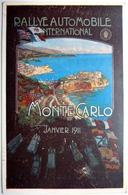 RALLYE AUTOMOBILE INTERNATIONAL - MONTE-CARLO JANVIER 1911 - Monte-Carlo