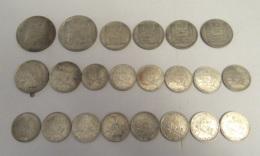 France - Collection De 22 Monnaies En Argent - 1 Franc à 20 Francs Turin - 1913 à 1964 - TB à SUP / SPL - France