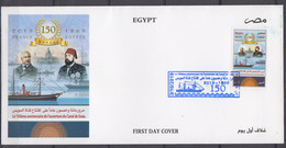 EGYPTE 2019         Premier Jour       COTE 4 . 50 EUROS - Briefe U. Dokumente