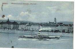 Basel  Rheinschulhaus Dampfer  Parcival - BS Bâle-Ville