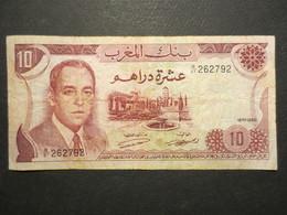 Billet - Maroc - Hassan II - Dix Dirhams - ABE - 1970 - 1390 - Marokko