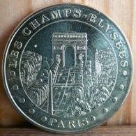 PARIS LES CHAMPS ELYSEES MONNAIE DE PARIS 2015 TOKEN JETON TOURISTIQUE - Monnaie De Paris