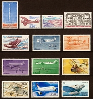 1960/2000  Poste Aérienne  N° PA38 à PA64  Neufs**  L'INTEGRALE (2 Scans) - 1960-.... Ungebraucht