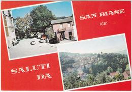 SAN BIASE - CAMPOBASSO - SALUTI DA... - VEDUTINE -30234- - Campobasso