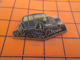813d Pin's Pins / Beau Et Rare / THEME : AUTOMOBILES / CITROEN 1936 TRACTION AVANT FFI Ou Gestapo ? - Citroën