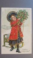 WEIHNACHTEN - CHRISTMAS - NOËL - FRÖHLICHE WEIHNACHTEN ! - PRÄGE-AK!!! - Weihnachten