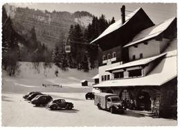 Autos Voitures Automobiles Cars - LES HOUCHES MONT BLANC - Camion à Identifier - Panhard Dyna X - Frégate - 203 Etc - Turismo
