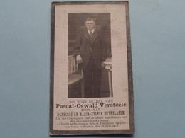 DP > Pascal-Oswald VERSTEELE ( Zoon Van Duynslager ) Oostcamp 12 Dec 1902 - Staden 18 Juni 1918 ( Zie Foto's ) ! - Todesanzeige