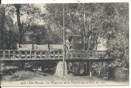 LES MILLES. LE WAGONNET DE LA TUILERIE SUR LE PONT DE L'ARC - Aix En Provence