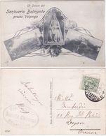 SANTUARIO BELMONTE PRESSO VALPERGA - TORINO - VIAGG. 1927 -27613- - Italien