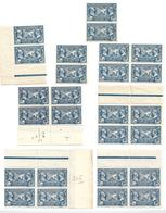 France N°245** Morceau De Feuille.(26 Timbres) - Full Sheets
