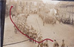 Ardooie Parade Voor Kaisersgeburtstag     Duitse Fotokaart 1° W.O. TOP !!!!!!!!!!! - Ardooie