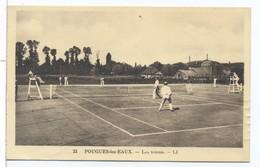 CPA Pougues Les Eaux Les Tennis - Pougues Les Eaux