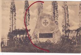 Vijfwege Westrozebeke Staden Friedhof  Begraafplaats Kerkhof Duitse Kaart  1° W.O. - Staden