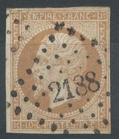 Lot N°53184  N°13B, Oblit PC 2188 Moulins-sur-Allier, Allier (3), Bonnes Marges - 1853-1860 Napoléon III.