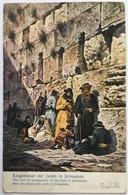 V 72055 - Gerusalemme - Klagemauer Der Juden In Jerusalem - Israel