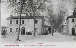 LOMBERS : La Poste Et Route De Gaillac- Petite Animation ( 1923) -Labouche - Frankreich