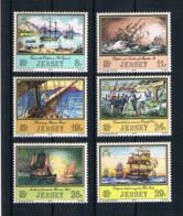 Jersey 1983 Schiffe Mi.Nr. 293/98 Kpl. Satz ** - Jersey