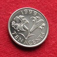 Bermuda 10 Cents 1999 KM# 109  Bermudes Bermudas - Bermuda
