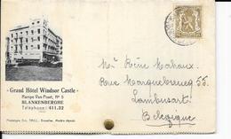 Blankenberge/Blankenberghe - Dépliant Publicitaire: Grand Hôtel WINDSOR CASTLE, Rampe Van Praet, 5 - 3 Scans - Blankenberge