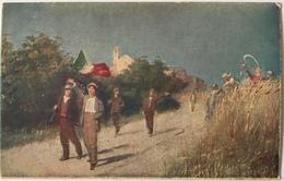 V 72059 - Anno 1917 - Dando Lavoro E Cure Alla Produzione Dei Campi Si Contribuisce Alla Vittoria Delle Armi - War 1914-18
