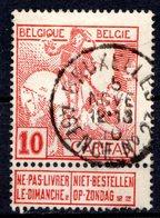BELGIQUE - 1910 - N° 87 - 10 C. + 5 C. Carmin - (Exposition D'Art Belge Du XVIIè Siècle, à Bruxelles) - 1910-1911 Caritas