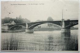 LA SEINE PITTORESQUE - LE PONT - RIS-ORANGIS - Ile-de-France