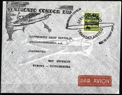 507 - BRASIL - 1930 - AIR MAIL - ZEPPELIN POST - COVER - FORGERY, FALSE, FAKE, FAUX, FALSO, FALSCH - Briefmarken